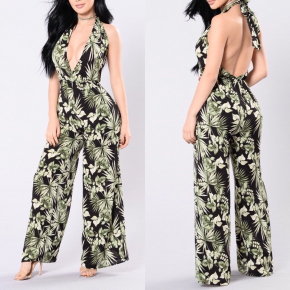 d02f016db6c Fashion Nova Pants - ❣ Fashion nova island dreams jumpsuit